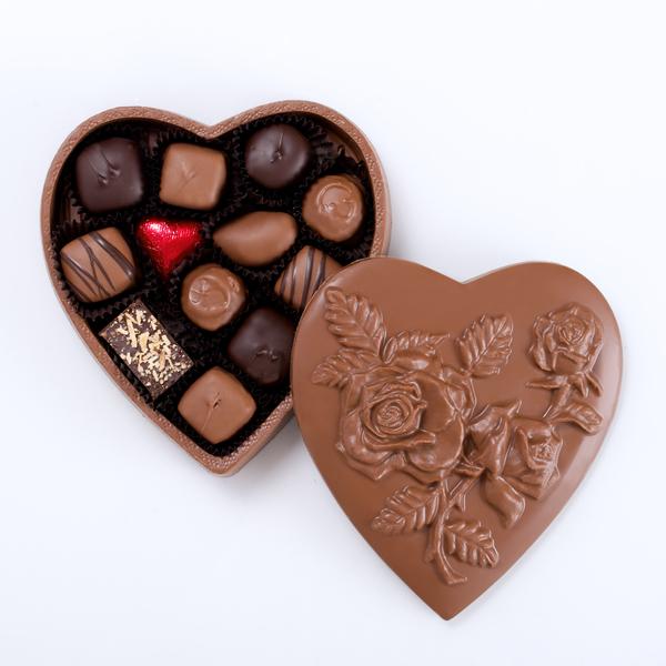 Chocolate Heart Box Walker S Chocolates
